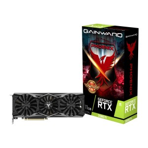 Karta graficzna Gainward GeForce RTX 2080Ti Phoenix GS 11GB DDR6 352-bit HDMI/DP/USB Type-C +  Wolfenstein Youngblood!