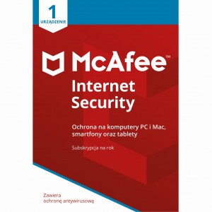 Program antywirusowy McAFEE internet Security