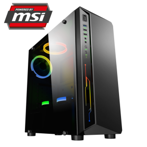 Komputer PC FOX POWERED BY MSI R5 2600/16GB/RX 570/SSD 240GB FKZ1510