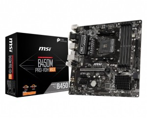 Płyta główna MSI B450M PRO-VDH MAX AM4 DDR4 DVI/VGA/HDMI BLACK FRIDAY !