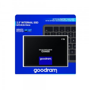 Dysk SSD GOODRAM CX400 1TB  SATA3 2,5 550/490MB/s 7mm