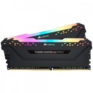 Corsair Pamięć DDR4 Vengeance PRO RGB 32GB/3000(2*16GB) BLACK