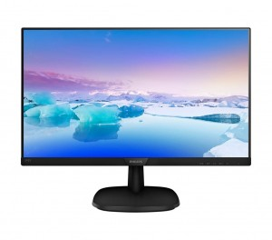 Philips Monitor 27 273V7QDSB IPS DVI HDMI Czarny