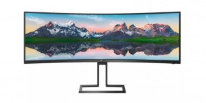 Philips Monitor 498P9 48.8 cali IPS HDMIx2 DP Głośniki