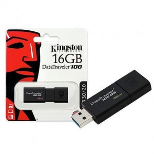 Pendrive Kingston DataTraveler 100 16GB USB 3.0
