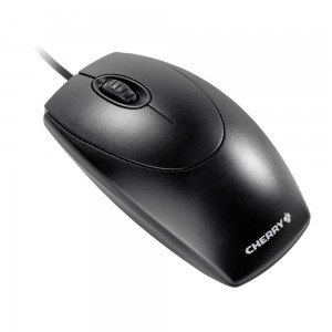 Mysz CHERRY Wheelmouse Czarny USB + PS2
