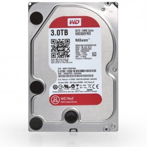 Dysk HDD WD RED 3TB WD30EFRX SATA III 64MB